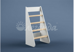 Лестница прямая ЛП-22(Легенда 22,23) белая